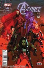 A-Force #4 Comic Book 2016 - Marvel