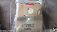 ORECK PK10PRO12DW Paper Vacuum Bag Disposable Pk 10 Vacuum Cleaner Accessories