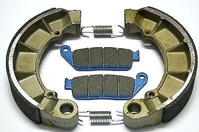 Rear Brake Shoes Front Brakes For Honda VT 750 C/CD/CD2 Deluxe 1999 2000 2001 02