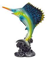 Statuette Espadon Animal Marin Idée Cadeau Pas Cher Décoration Marine Neuf