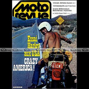 MOTO-REVUE-N-2433-HARLEY-DAVIDSON-FXE-1340-XLH-1000-HONDA-CR-125-BIMOTA-GS-SB3