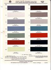 1960 BUICK LE SABRE INVICTA ELECTRA 225 RIVIERA 60 PAINT CHIPS DITZLER 8