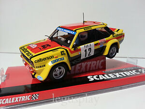 """Slot SCX Scalextric A10194S300 Fiat 131 Abarth """"Mouton-Montecarlo"""""""