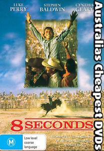 8-Seconds-DVD-NEW-FREE-POSTAGE-WITHIN-AUSTRALIA-REGION-1-amp-4
