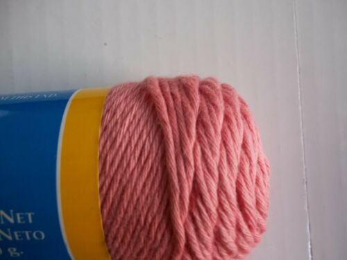 100/% cotton lot of 2 South Maid Cotton 8 crochet thread//yarn Coral