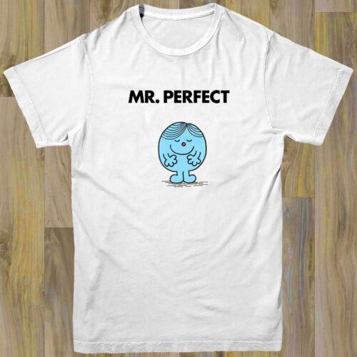 Mr Perfect Mens T shirt S-XL Retro Fashion Illustration TV Funny