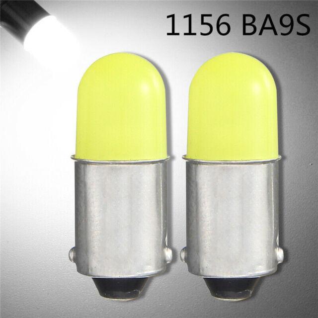 2X 1156 BA9S P21W COB 12V LED Car Backup Reverse Indicator Turn Light Lamp BuJCA