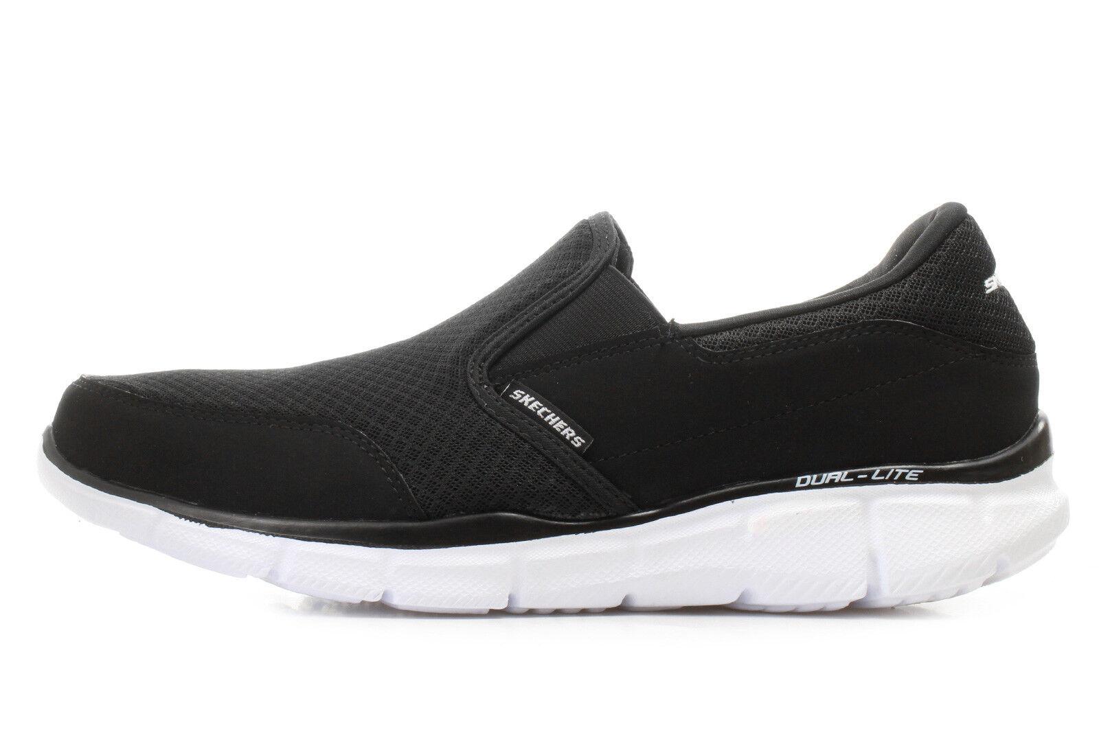 Skechers Men's Equaliser Persistant Slip On Sport Fashion Trainers Memory Foam