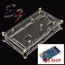 Acrylic Box Enclosure Transparent Case for Arduino MEGA2560 UNO US SHIP