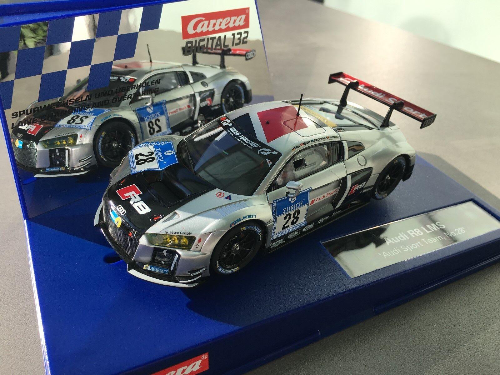 Carrera Digital 132 30769 Audi R6 LMS  Audi Sport Team, No.28  NEU OVP  | Verschiedene aktuelle Designs