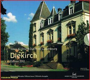 LUXEMBURG - BU SET 2012 - DIEKIRCH - 10 MUNTEN