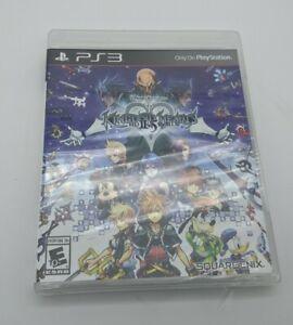 Kingdom Hearts HD 2.5 ReMIX PS3 PlayStation 3 (Black Label) BRAND NEW Sealed