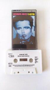 Vintage Cassette Tape Adam Ant Hits 1986 CBS Records 80s Compilation