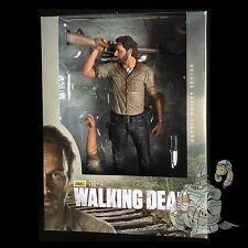 "The WALKING DEAD Rick GRIMES 10"" Deluxe Action Figure McFarlane Toys AMC TV New!"