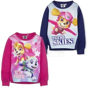 Hooded Jumper Disney Princess Girls Official Hoodie Warm Sweatshirt 2-6 Years
