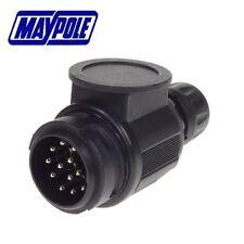 MAYPOLE 12V 13 PIN TRAILER PLASTIC PLUG - MP128B