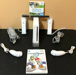 Nintendo-Wii-Console-Bundle-Mario-Kart-Wii-Sports-2-Controllers-Tested