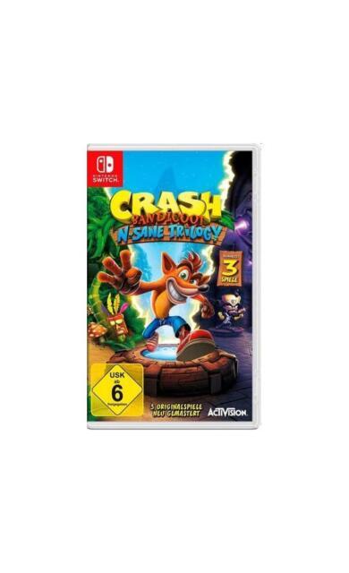 Crash Bandicoot N.Sane Trilogy SWITCH NSWITCH Neu & OVP
