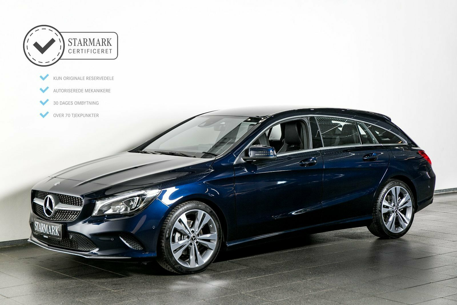 Mercedes CLA200 1,6 SB aut. 5d - 389.900 kr.