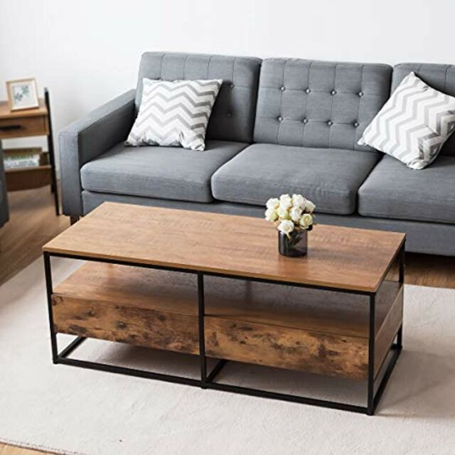 Union Rustic Logue Coffee Table For Sale Online Ebay