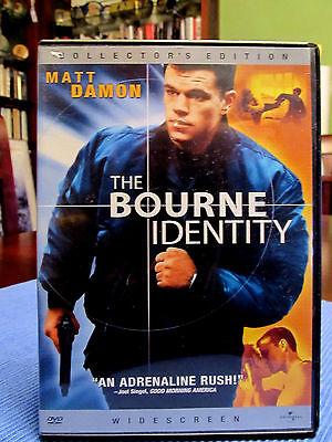 Matt Damon Dvd The Bourne Identity 2002 Widescreen Edition Collector Avec 6 Spe Ebay