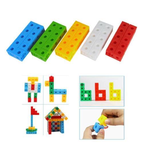 Maths Link Counting Cubes Pack of 50 5-Colors Cubes 2cm x 2cm x 2cm