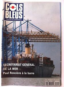 COLS-BLEUS-n-2419-du-29-11-1997-Scretariat-general-de-la-mer-Paul-Ronciere