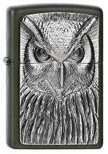 ZIPPO Feuerzeug OWL Anne Stokes Collection Eule Nachtvogel NEU OVP Sammlerstück!