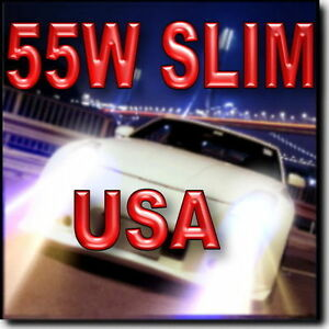 55W-SLIM-H4-9003-HB2-Hi-Halogen-Lo-HID-HID-Headlamp-Kit-43K-6K-8K-10K