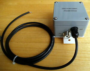 Details about Receive Preamp, Masthead, RF Switched for 2m, type RP2SM