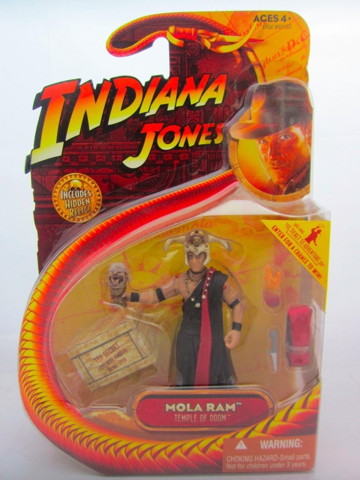 INDIANA JONES TEMPIO MALEDETTO MOLA RAM Toy Action Figure MOC sigillato HASBRO 2008