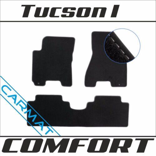 HYUNDAI TUCSON I anno 2004-2010 Tappetini Tappeti auto comfort