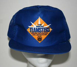 Details about Rare 1970s The New Teamsters Union Good Jobs Mesh Baseball  Cap Hat New NOS OSFM
