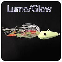 Caivo 3d Mad Dog Jigs Col:lumo/glow , Bottom Jigs