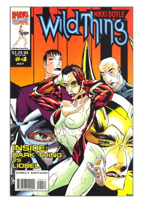 Nikki Doyle Wild Thing #6 September 1993 Marvel Comics