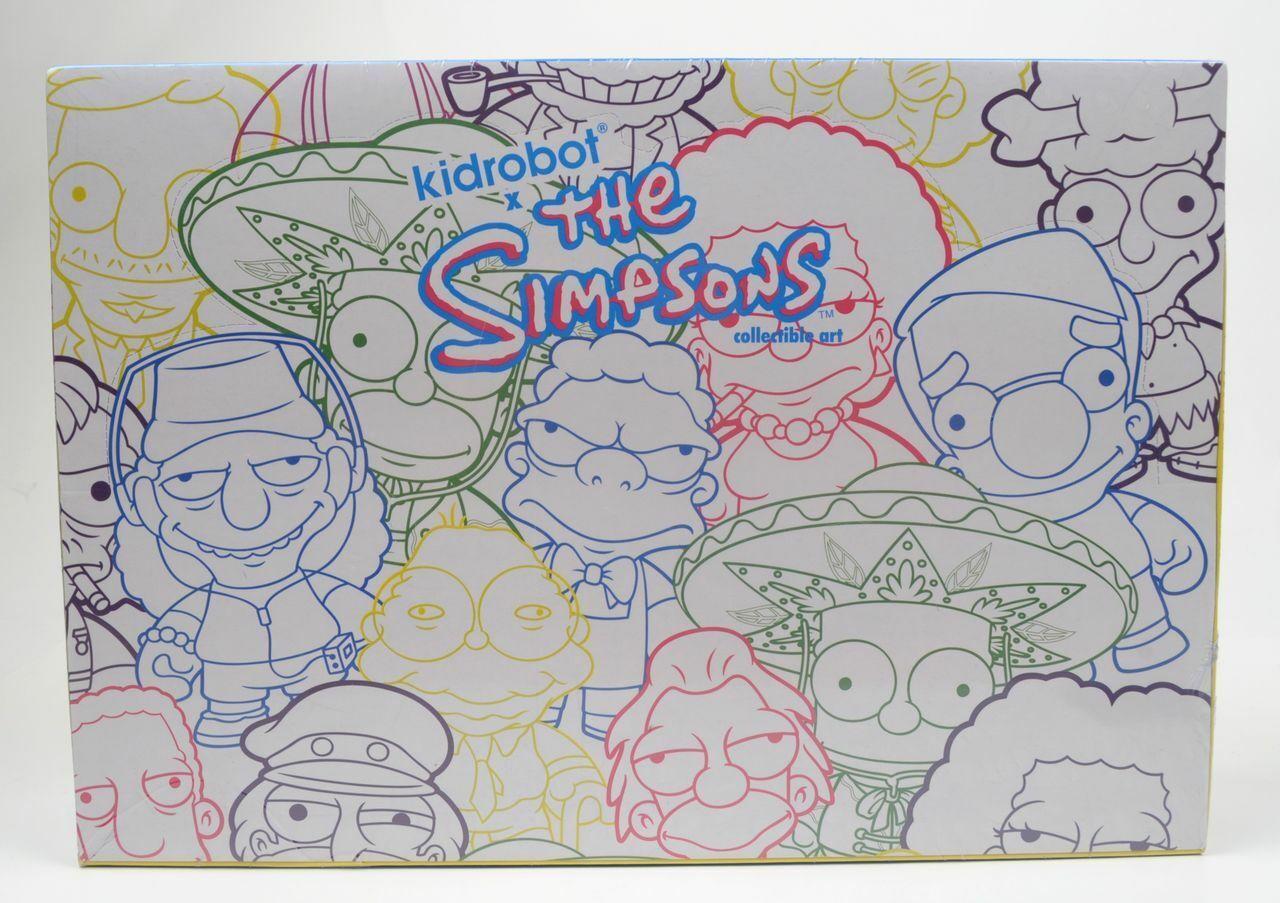 Kidrobot Los Simpsons Serie 2 Mini Figuras, 1 Nueva Sellada Caja de 20 cajas ciegas