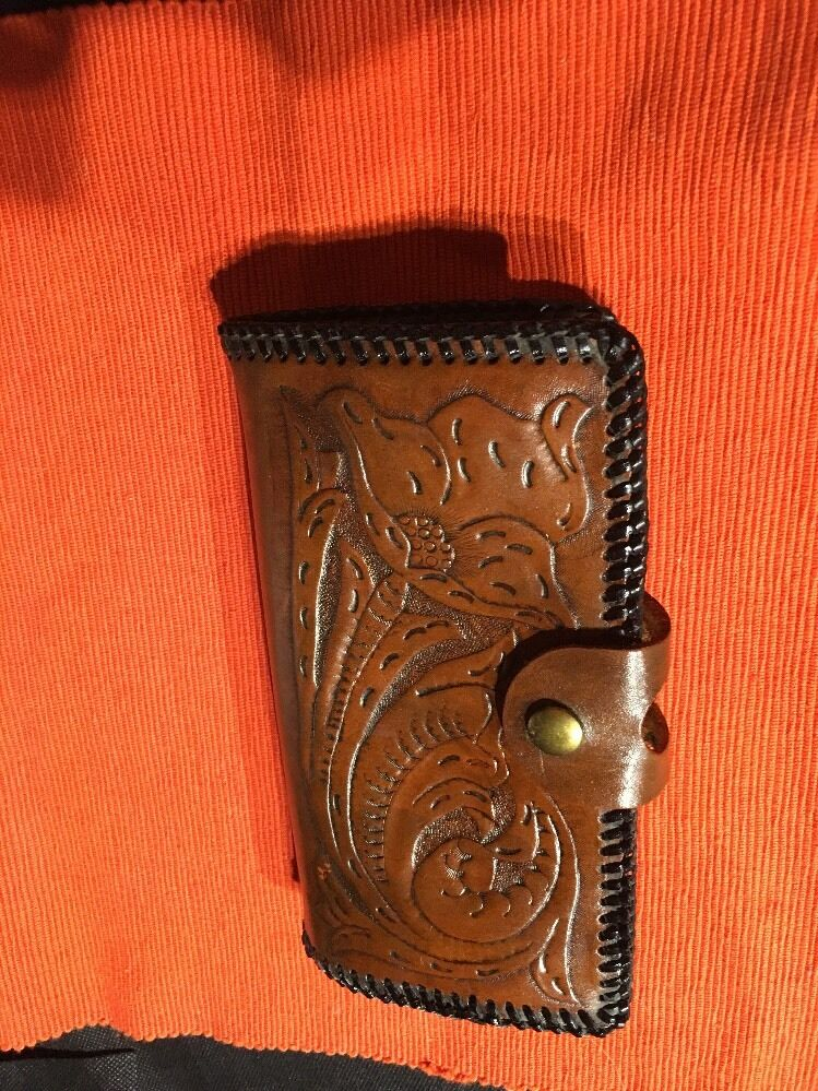 Vintage Hand CRAFTED   Leather WalleT