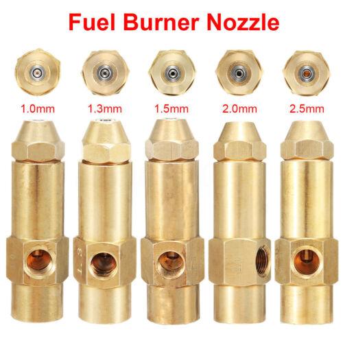1mm 1.3mm 1.5mm 2mm 2.5mm OLIO PESANTE rifiuti olio combustibile a base di alcool bruciatore ugello