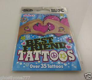 temporary-tattoos-body-art-best-friend-tattoo