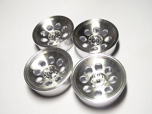kyosho turbo optima pro optimamid alloy wheels cover Felgen wheels 4pc polish