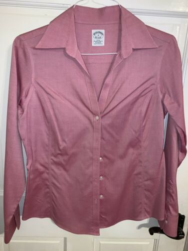 Brooks Brothers Fitted Stretch Button Down Shirt P