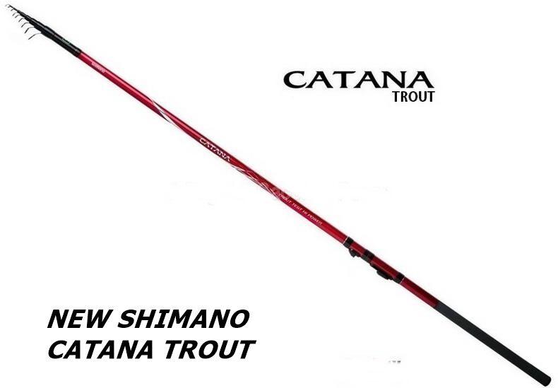 CANNA SHIMANO CATANA TROUT TELE GT HIGHT HIGHT HIGHT POWER AZ 6 Mt4,20 10-18gr TROTA LAGO 995ca7