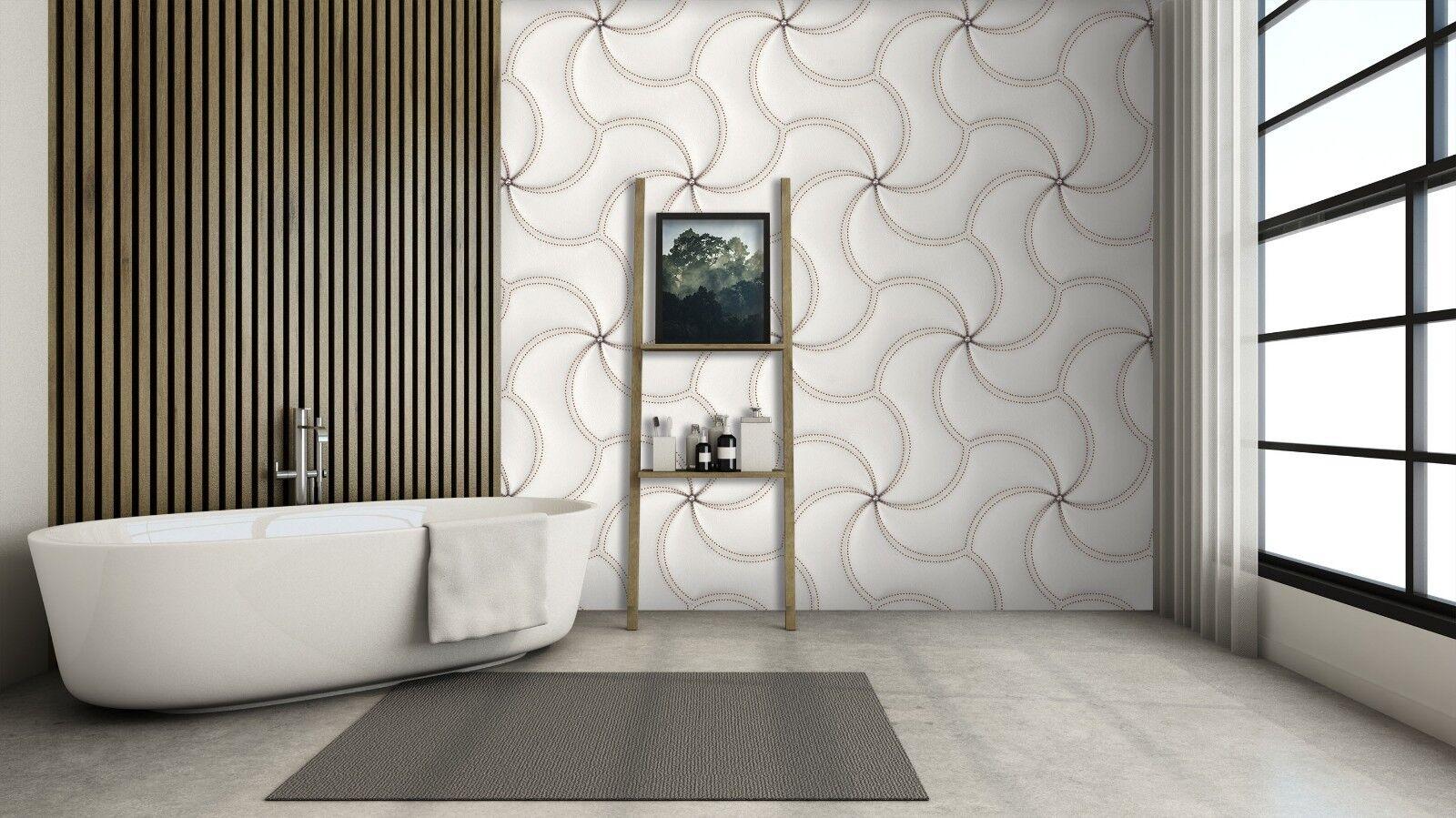 3D Small Diamond 84 Texture Tiles Marble Wall Paper Decal Wallpaper Mural AJ