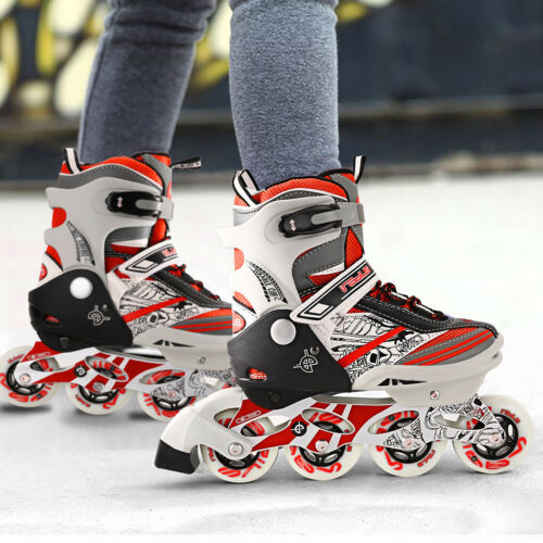 Inline Skates Rollerblade Children Teens Fitness Skate Integral Steel roller *