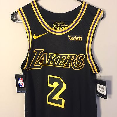 separation shoes 5a248 5ad78 Nike Los Angeles Lakers Lonzo Ball Authentic City Series Jersey Wish sz S L  NWT   eBay