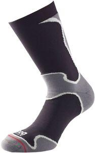 1000 Mile Fusion Mens Running Socks - Black
