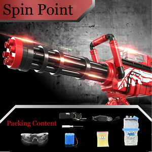Details about Simulation Gatling Gun Electric Soft Guns Capable of Firing  Bullet Kid Toy Gift