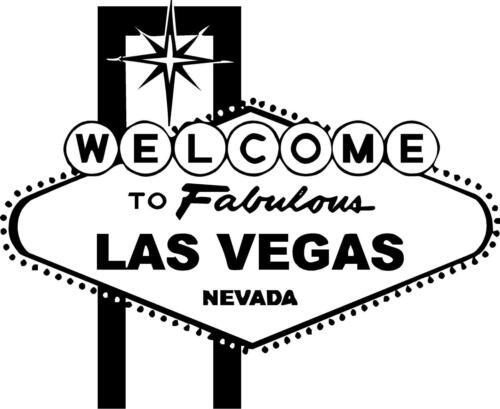 Welcome to Las Vegas Vinyl decal