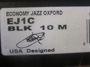 Capezio Economy Jazz Oxford EJ1C Black Leather New NIB Split Sole Childrens Kids