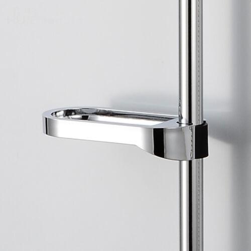 ABS Plastic Delicate Shower Rail Soap Box Soap Holder Shower Rod For Sliding Bar